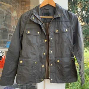 JCrew Waxed Field Jacket-- Adventure!